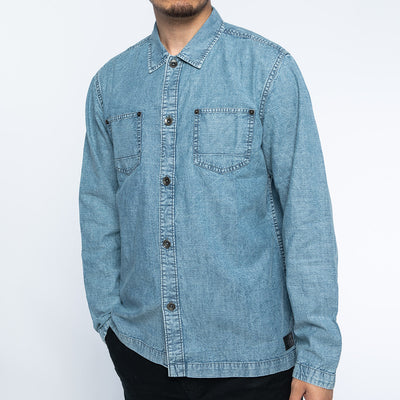 Boeing Wash Chambray Shirt (2918786531450)