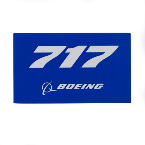 717 Blue Sticker