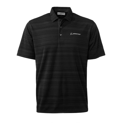 Boeing Signature Strata Textured Polo Shirt