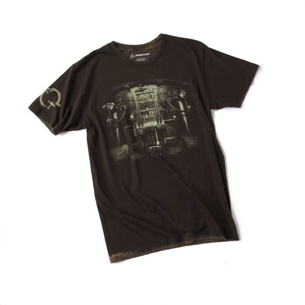 Boeing B-17 Flying Fortress Flight Deck T-Shirt (6403271046)