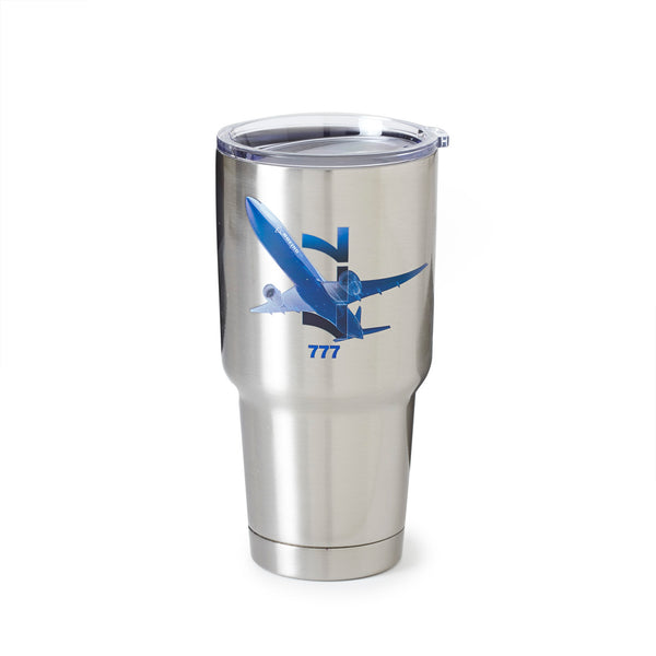 777 X-Ray Graphic Stainless-Steel Tumbler