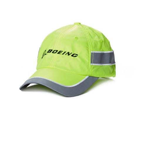 Neon Yellow Reflective Safety Hat