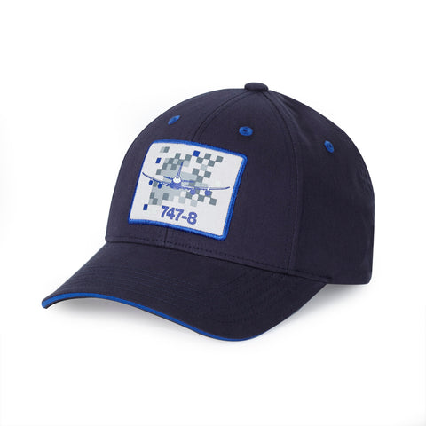 747-8 Pixel Graphic Hat