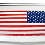 727 Fuselage American Flag Table - Starboard Side