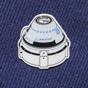 Boeing Illustrated Starliner Lapel Pin