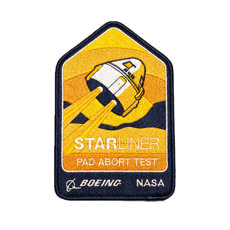 Boeing Starliner Pad Abort Test Mission Patch (2955219304570)
