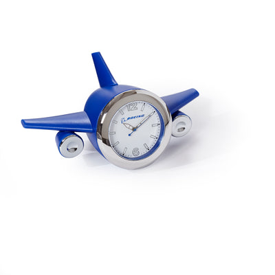 Boeing Airplane Shaped Desk Clock