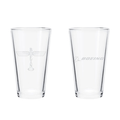 Boeing Heritage Pint Glass
