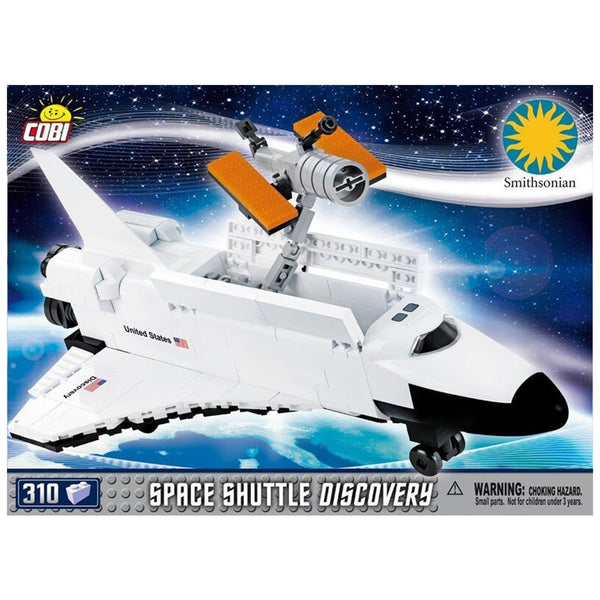 Cobi Smithsonian Space Shuttle Discovery Building Kit