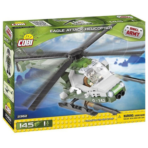 Cobi Eagle Attack Helicopter Building Kit