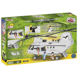 Cobi Heavy Transport Helicopter Building Kit