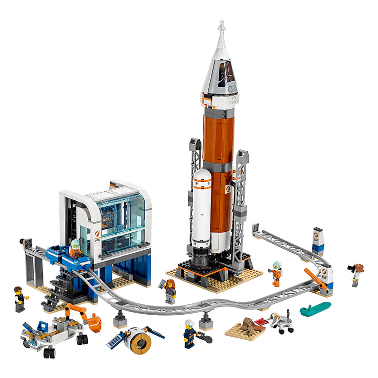 LEGO Deep Space Rocket and Launch Control