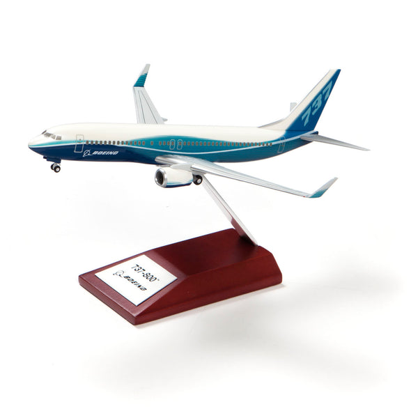 737-800 Snap-Together Model with Wood Base