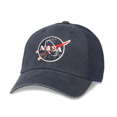 NASA Raglan Bones Trucker Hat