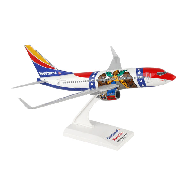 Southwest Airlines Boeing 737-700 Missouri One 1:130 Model