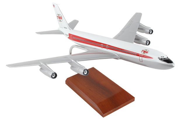 Trans World Airlines Boeing B707-320 1:100 Model