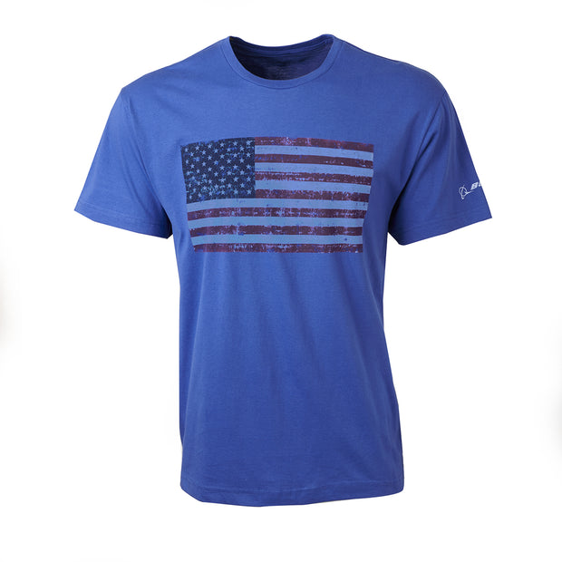 Vintage-Look American Flag T-Shirt (11071685772)