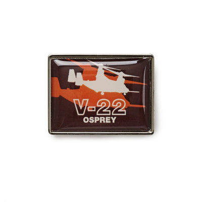 Boeing Shadow Graphic V-22  Lapel Pin