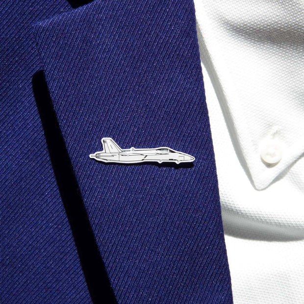 Boeing Illustrated F/A-18 Lapel Pin