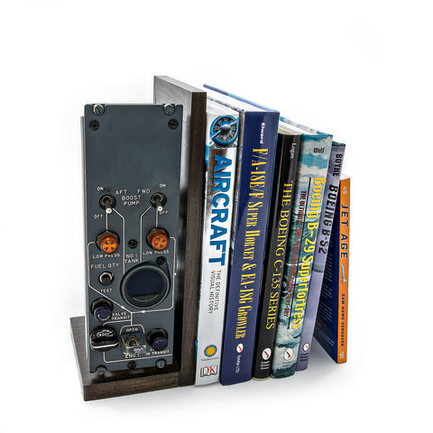 727 Cockpit Panel Bookend - Beech I