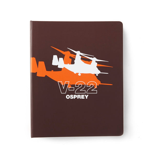 Boeing V-22 Osprey Shadow Graphic Notebook