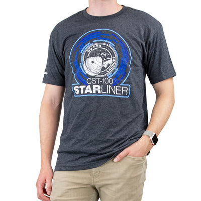 Boeing Challenge Accepted CST-100 T-Shirt (2859528421498)
