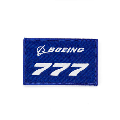 Boeing 777 Stratotype Embroidered Patch (3060236058746)
