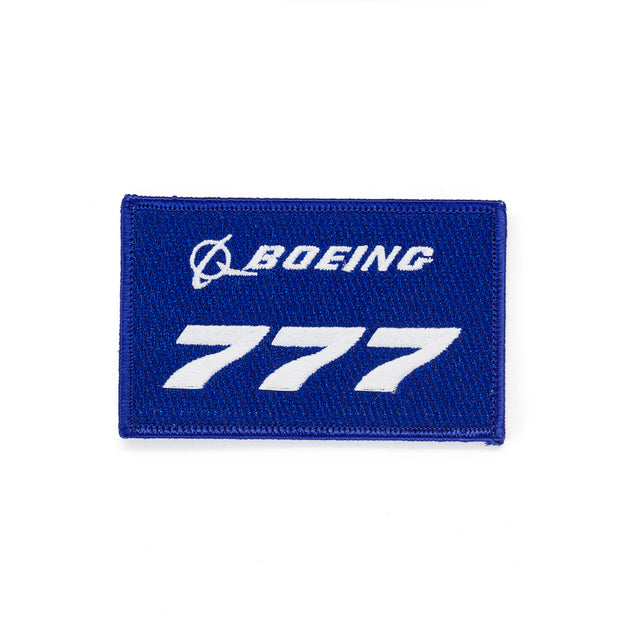 Boeing 777 Stratotype Embroidered Patch