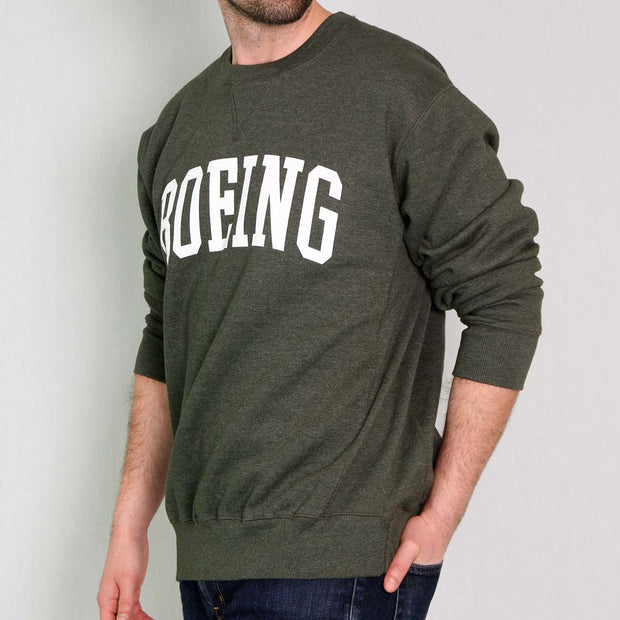 Boeing Heavyweight Crewneck Sweatshirt
