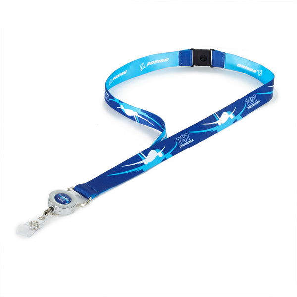 787 Dreamliner Shadow Graphic Lanyard