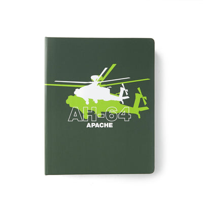 Boeing AH-64 Apache Shadow Graphic Notebook (199400914956)