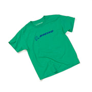 Kids Boeing Logo Favorite T-Shirt (1722613366906)