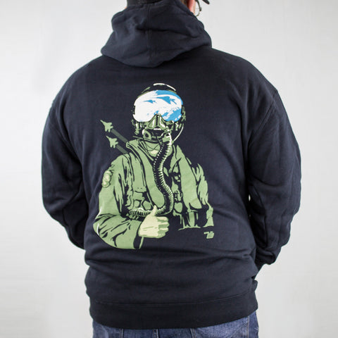 Ames Bros F-15 All Cleared Graphic Hoodie