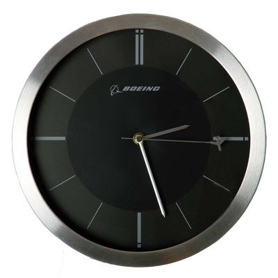 Boeing Rotating Plane Clock