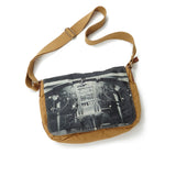 B-17 Cockpit Canvas Messenger Bag