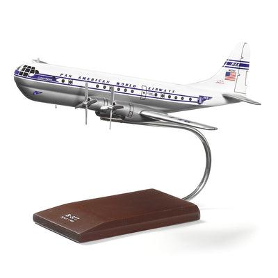 Boeing 377 Stratocruiser Wood 1:100 Model (73421455372)