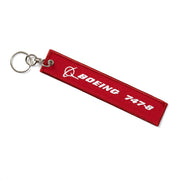 Boeing Remove Before Flight 747-8 Keychain