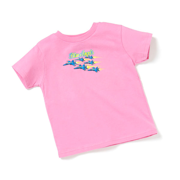 Blue Angels Youth T-shirt - Pink