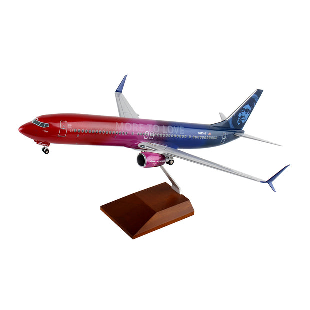 Alaska Airlines 737-900 More To Love 1:100 Model