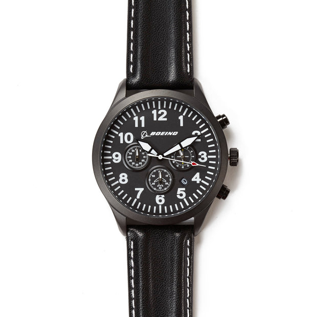 Cockpit Gauge Chronograph Watch (10846765900)