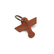Boeing Totem Leather Keychain