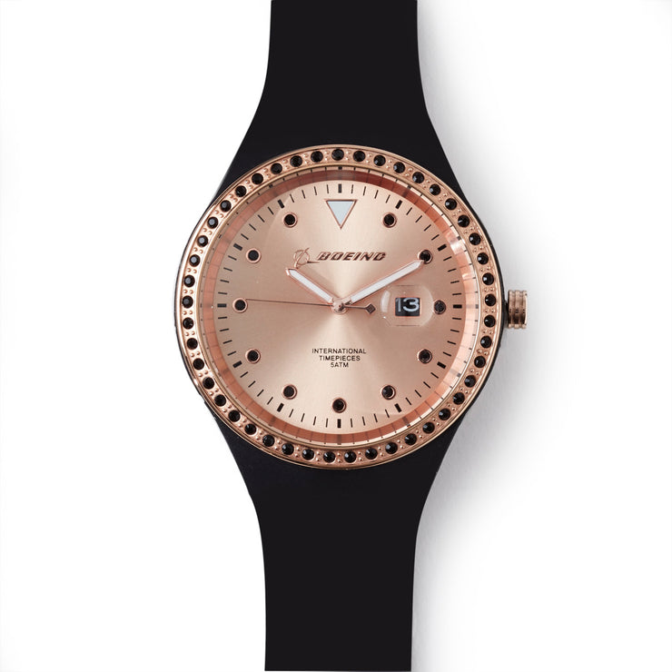 Boeing Rose Gold Accent Watch - Women