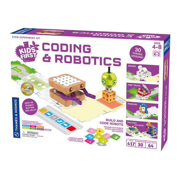 Kids First Coding & Robotics