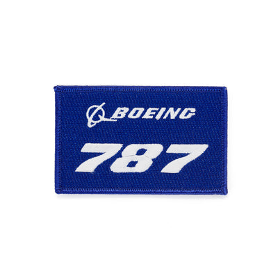 Boeing 787 Stratotype Embroidered Patch