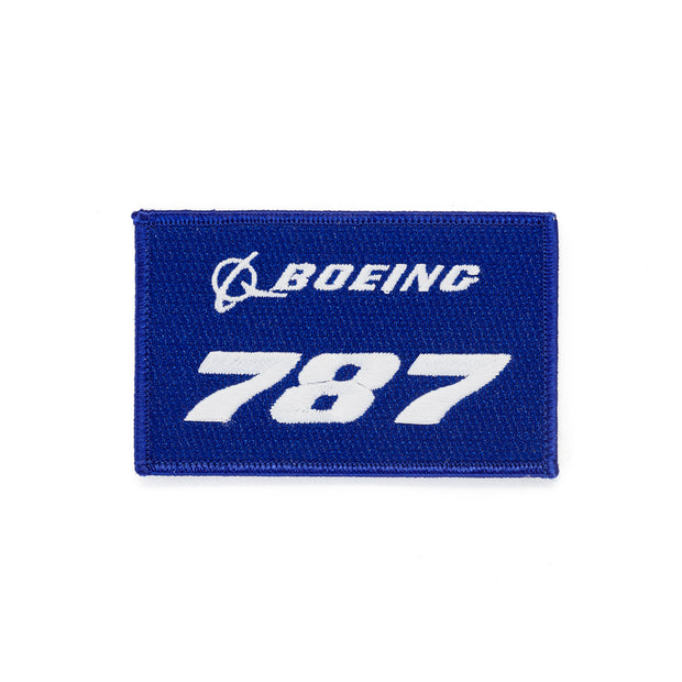 Boeing 787 Stratotype Embroidered Patch (3060236091514)