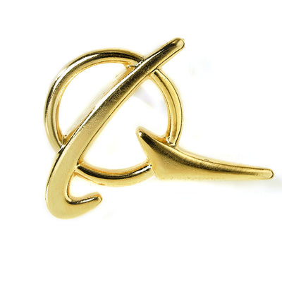Boeing Logo Gold Lapel Pin