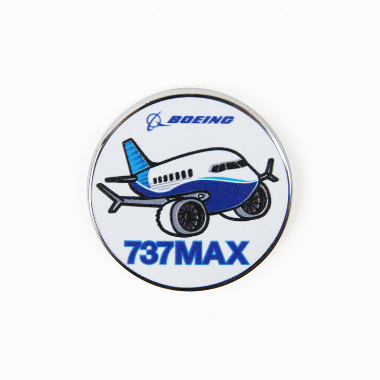 Boeing 737 MAX Pudgy Pin