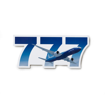 Boeing 777 Sticker (250371735564)