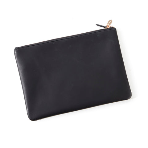 Boeing Rose Gold Accent Clutch