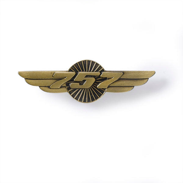 757 Wings Pin